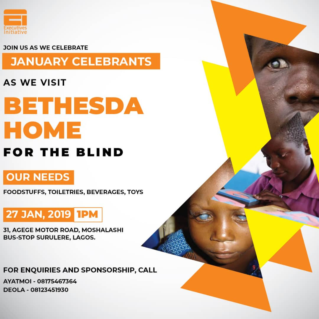 Visit to Bethesda Home for the Blind- January Birthday celebration