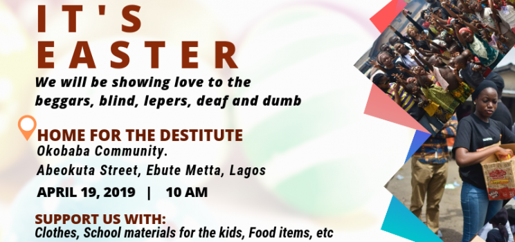 Visit to Home For the Destitute, Okobaba Community